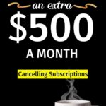 Cancelling subscriptions to save money