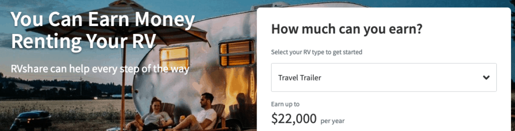 rv share make $200 every day