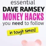Dave Ramsey money tips