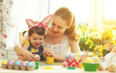 25 Cheap & Easy Easter Crafts for Kids
