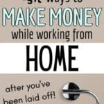 laid off work from home