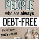 habits to become debt free