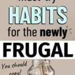 money saving tips for newly frugal