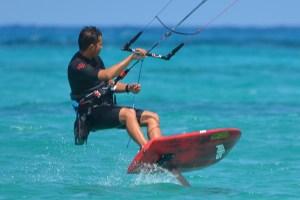 foil kiteboard