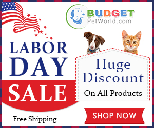 Celebrate Labor Day with Your Pet! Take 15% Extra OFF + Free Shipping. Use Coupon: Labor15