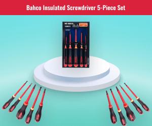 Bahco 5 Piece Screwdriver Set