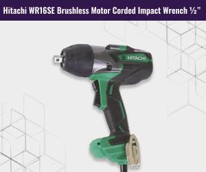 Hitachi Brushless Motor Corded Wrench