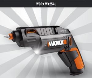 WORX WX254L SD Semi-Automatic Power Screwdriver
