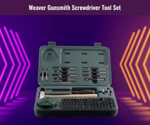 Best Weaver Gunsmith Screwdriver