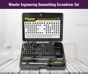Wheeler Engineering Gunsmith Screwdriver