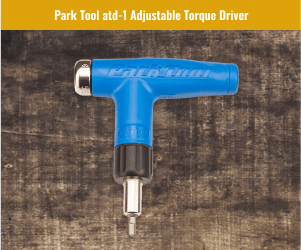 Park Tool Adjustable Torque Driver