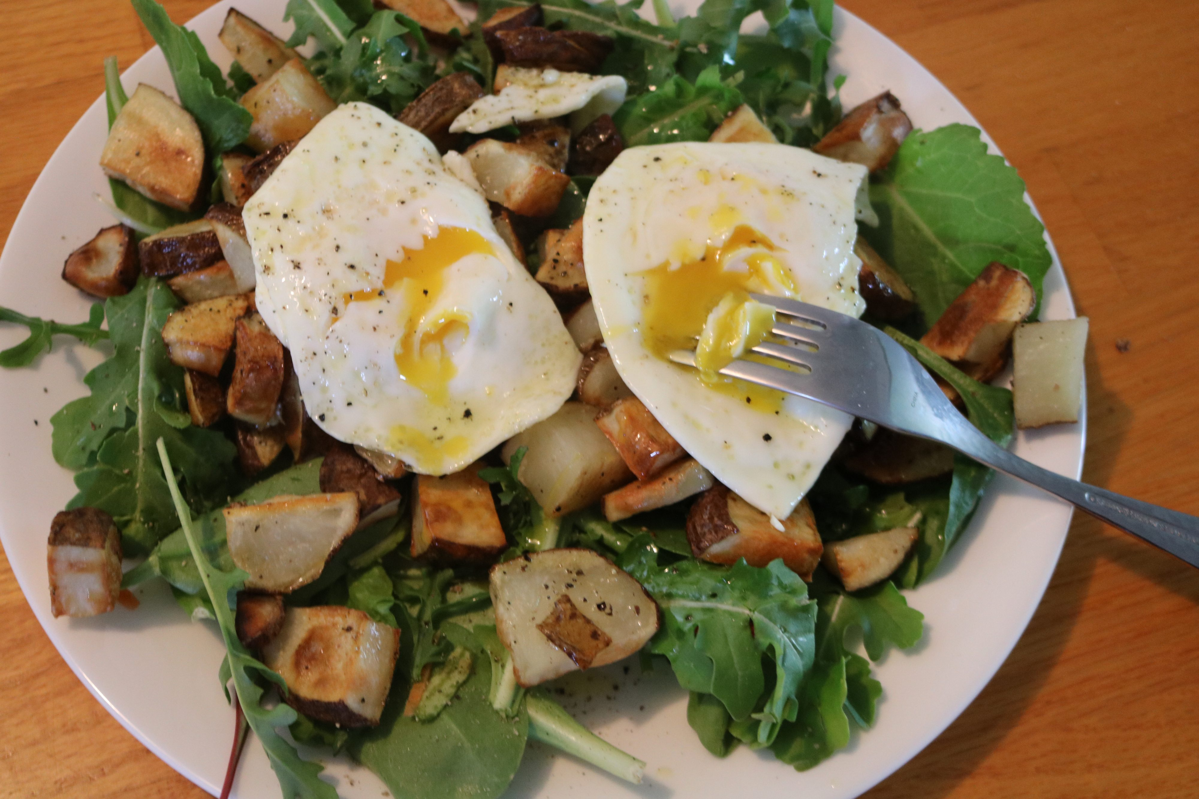 Potatoes and Eggs (Budget Whole30)