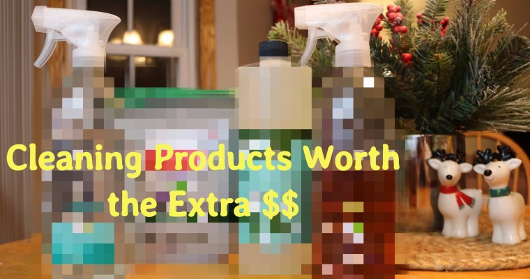 Cleaning Products Worth the (Extra) Money