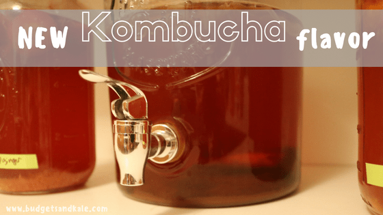 Strawberry Mint Kombucha