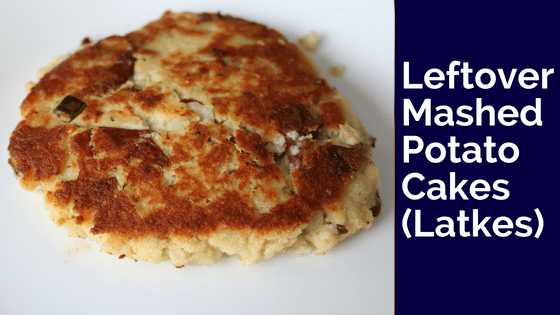Leftover Mashed Potato Pancakes (Paleo/SWYPO Whole30/DF/GF Latkes)