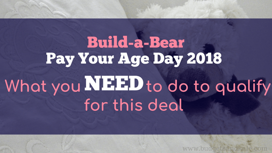 Build-A-Bear Pay Your Age: What You HAVE to Do to Get Access to the Sale