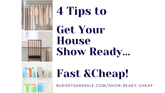 Get Your House Show Ready (Cheap!) – How to Fake Your Whole House Being Organized