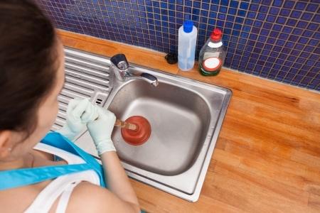 clogged drain diy tips