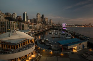 Seattle water front.