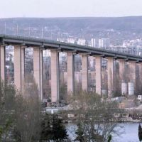 Актуално състояние на част от Аспарухов мост (ВИДЕО)