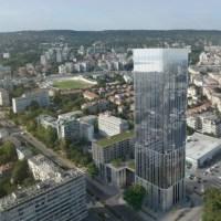 Първия небостъргач във Варна (снимки)