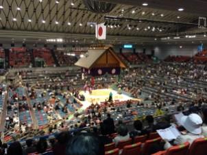 Sumo wrestling Japan