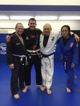 Training at Tri-Force BJJ Academy in Osaka