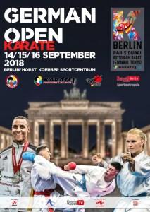 Open d'Allemagne Berlin les 14,15 et 16 septembre @ Horst-Korber-Sportzentrum | Berlin | Berlin | Allemagne