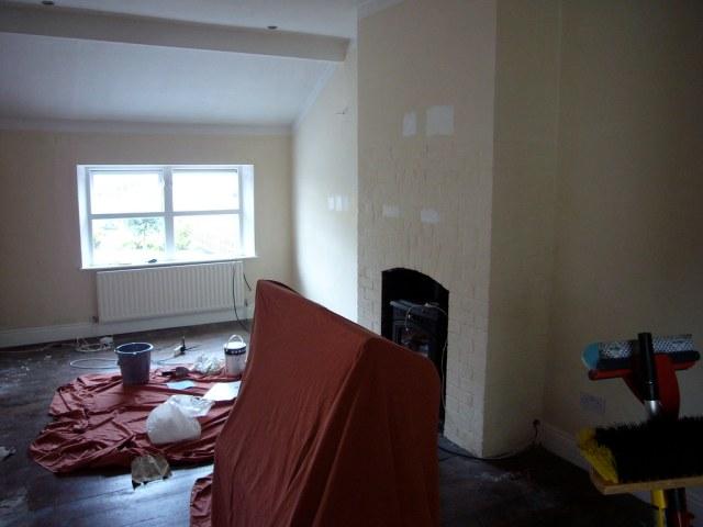 przygotowanie pomieszczenia do remontu