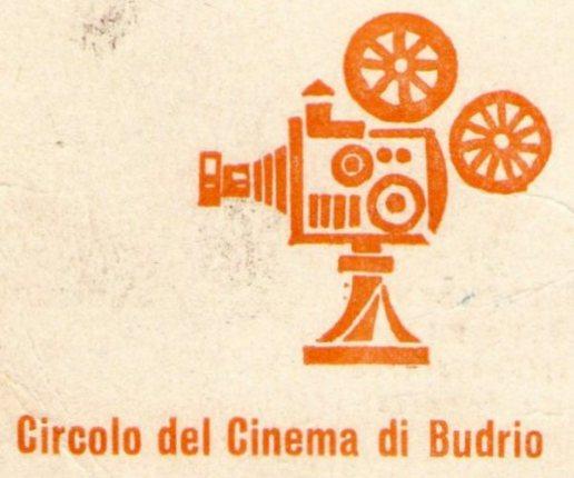 Il simbolo del circolo del Cinema Quirico Filopanti di Budrio (Prop. Ferruccio Melloni)
