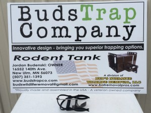 Buds Trap Co Rodent Tank