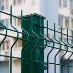 Забор секционный из сварной сетки