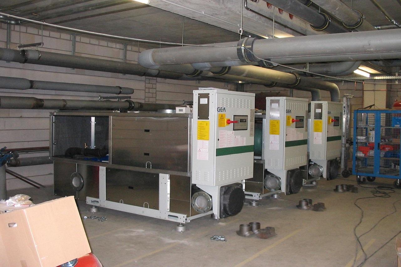 Kühlung Klimaanlage Köln Düsseldorf Langenfeld Kältekaskade Kälteanlage