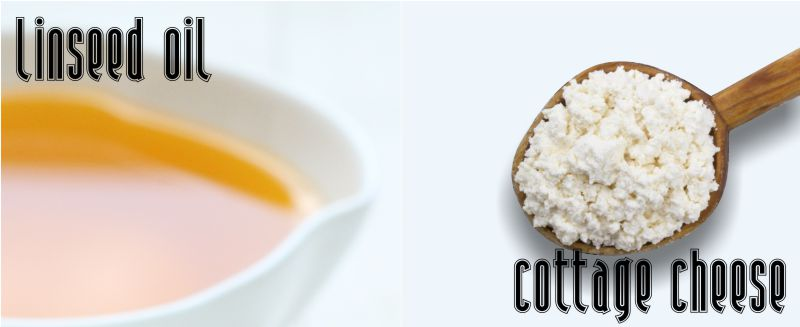 Linseed (Flaxseed) Oil and Cottage Cheese Help to Tackle Some 50 Common Illnesses