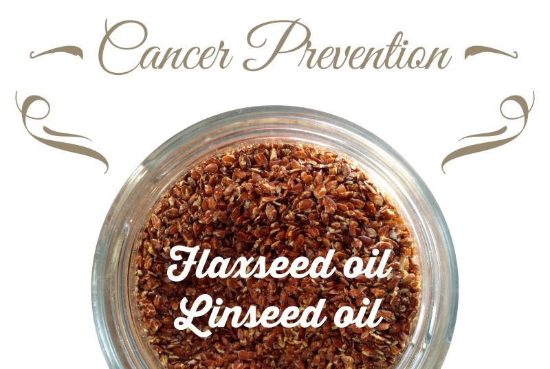 Cancer Prevention Tips: What Are The Benefits if I Take Flaxseed Oil or Linseed oil on its Own?
