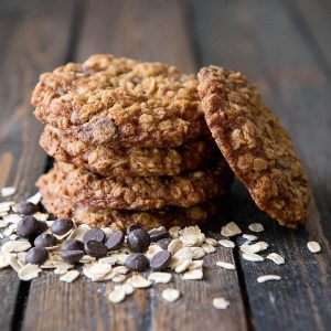 """""""Baked Edibles"""" Oatmeal Chocolate Cookies"""