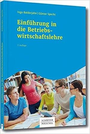 Balderjahn, Ingo; Specht, Gunter - Einführung in die Betriebswirtschaftslehre