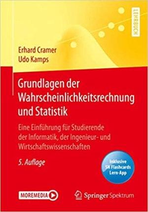 Cramer, Erhard; Kamps, Udo - Grundlagen der Wahrscheinlichkeitsrechnung und Statistik