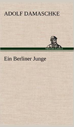 Damaschke, Adolf - Ein Berliner Junge