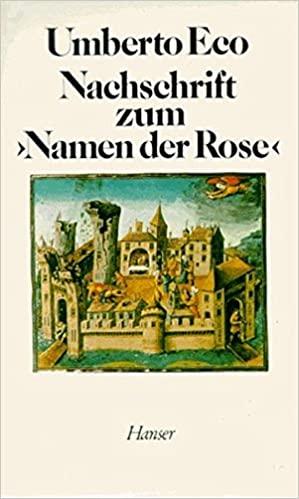 Eco, Umberto - Der Name der Rose - Nachschrift