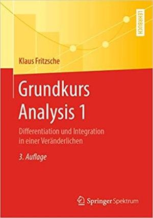 Fritzsche, Klaus - Grundkurs Analysis 1