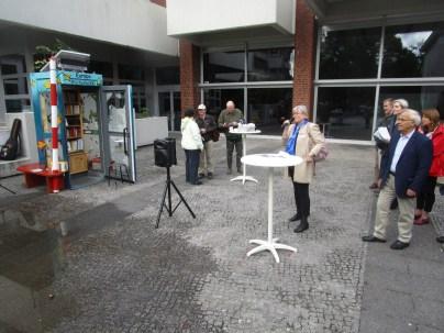 Begrußung der EuropaboXX II im Rahmen des Sommerfestes des Franz. Gymnasiums