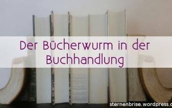 Titelbild Bücherwurm in der Buchhandlung
