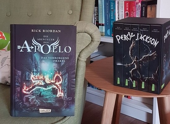 Rezension – Die Abenteuer des Apollo – Rick Riordan