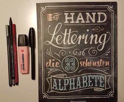 Rezension – Handlettering – die 33 schönsten Alphabete – Norbert Pautner