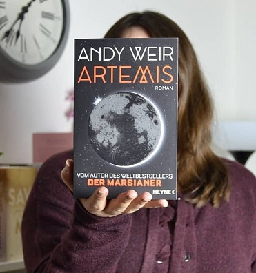 Rezension – Artemis – Andy Weir