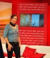 """Juli Zeh stellte auf der Leipziger Buchmesse """"Unterleute"""" vor."""