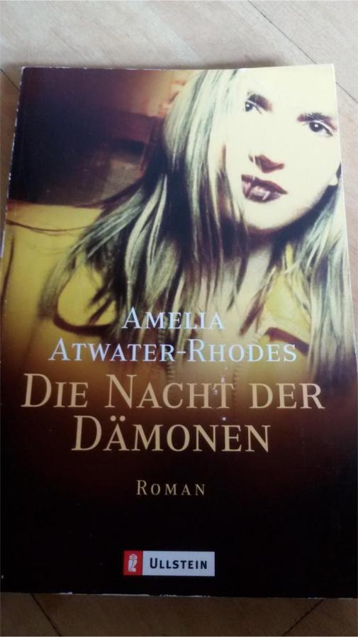 """""""Die Nacht der Dämonen"""" von Amelia Atwater-Rhodes"""