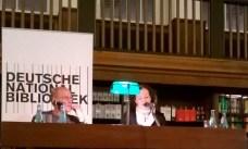 Meir Shalev in der Deutschen Nationalbibliothek