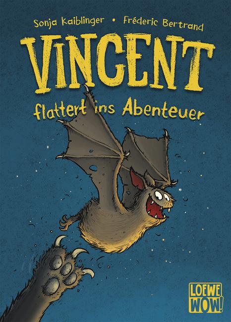 Loewe-Wow!: Vincent flattert ins Abenteuer